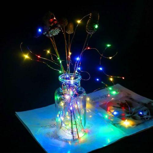 Fairy 7FT 20 LED Firefly Operated Light
