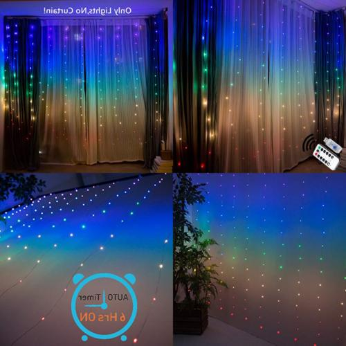 fairy lights led string twinkle color changing