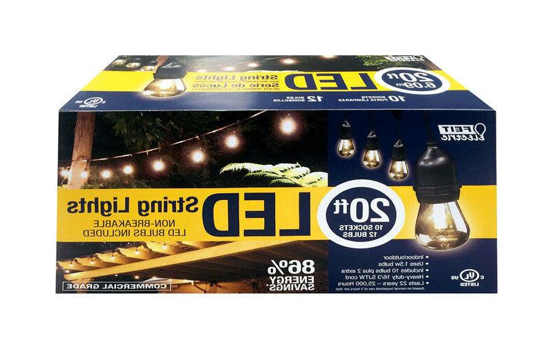 FEIT ELECTRIC CLEAR DECORATIVE LED LIGHT STRING