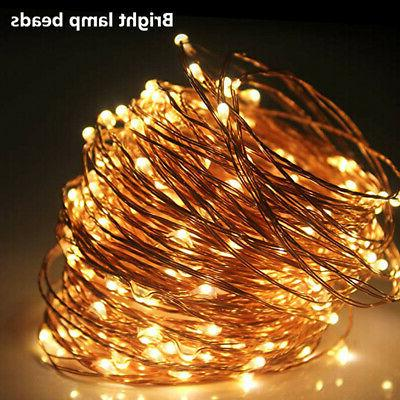 Festival Decor String Lights Electric Plug-in Multi Change