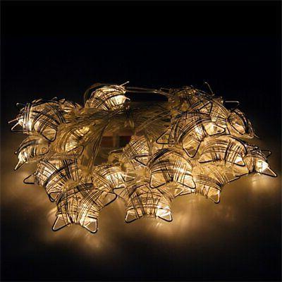 Festive Metal Lights Lights 6.5FT 20 LED