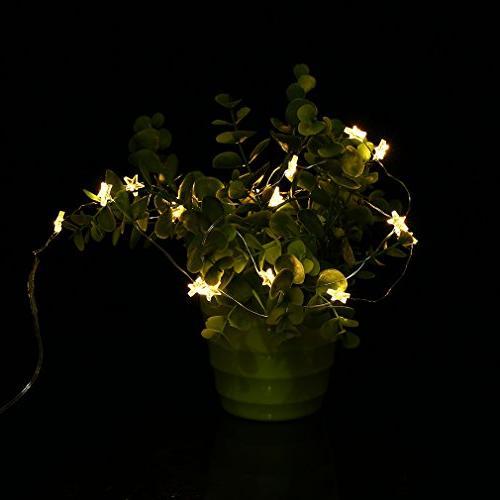Five-Pointed 2M 20LED String Festival Light String Light