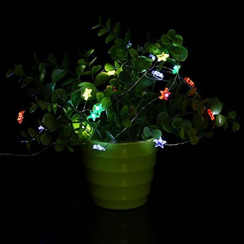 Five-Pointed 20LED String -Axier Party Festival String Light