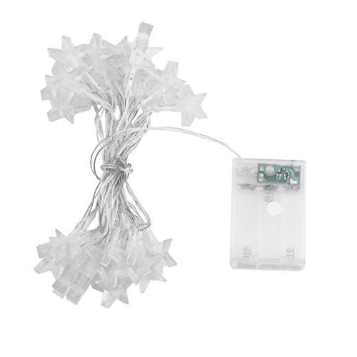 five stars indoor string light