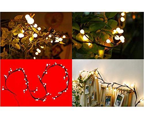 Globe 8.3Ft Hanging Indoor/Outdoor String for Garden,Xmas Backyard,Party,Wedding