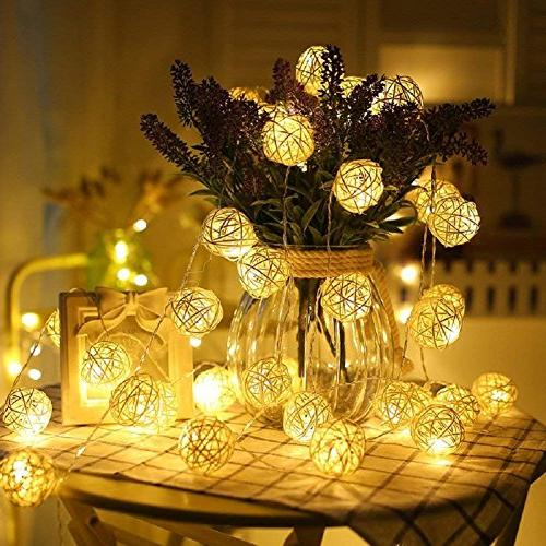 Globe Ball Lights, LED Light Indoor,Bedroom,Curtain,Patio,Lawn,Landscape,Fairy Tree,Party