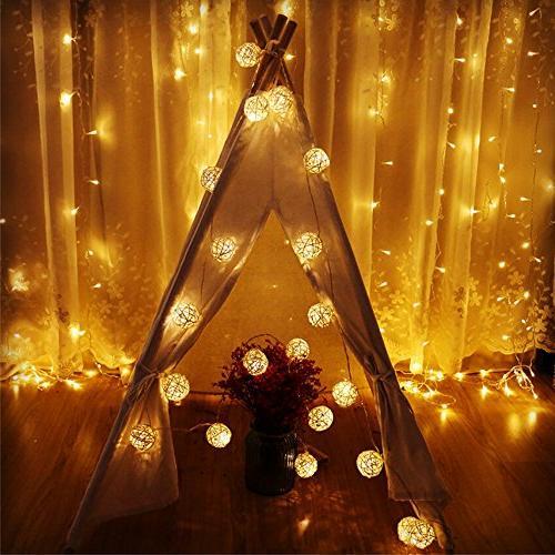 Globe Ball Lights, Goodia LED Light for Garden,Home,Wedding,Holiday,Christmas Tree,Party