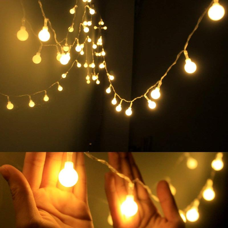 globe string light led starry fairy