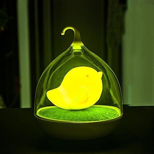 GOTD Children's Bird Hand-held Design Touch Sensor Vibration - Kids, ,Home Decor Bedroom,
