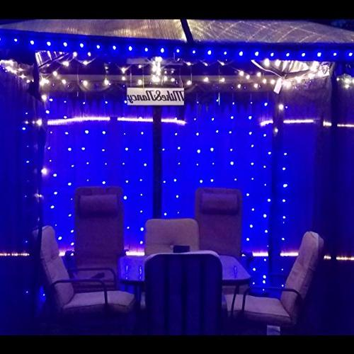 HAHOME Lights,33Ft 100 and Outdoor Starry Christmas Halloween Party