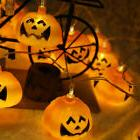 hallowee plug-in electric pumpkin string lights holiday ligh