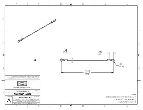"""TCH Steel Cable 8"""" Wire Crimps Ferrules"""