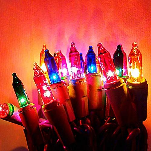 ALEKO Outdoor Traditional Lights Christmas 16.5 Foot Multicolored