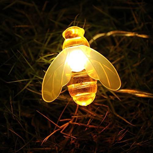 Honeybee CHEN 10Ft Honeybee Battery String