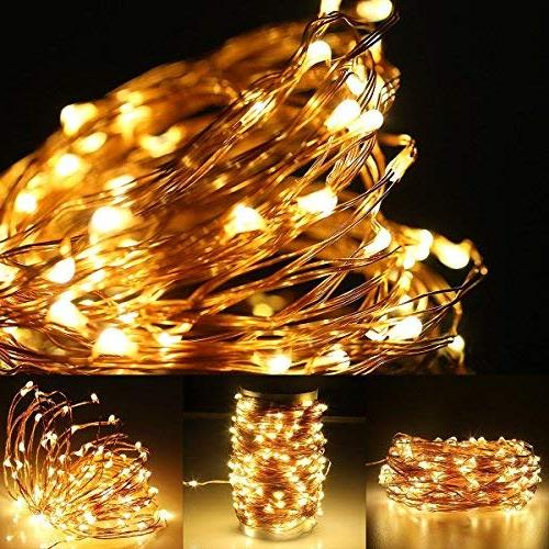 LE 200 Copper Warm LED Fairy Lights, Lights, Outdoor Lighting Party Adaptor Included