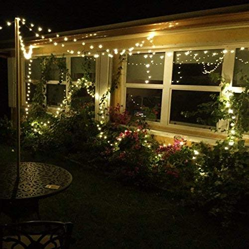 LE Copper Wire Warm LED Fairy Lights, Lights, Outdoor Lighting Party Adaptor Included