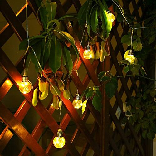 LE Operated String G45 LED Warm Outdoor Bulb More
