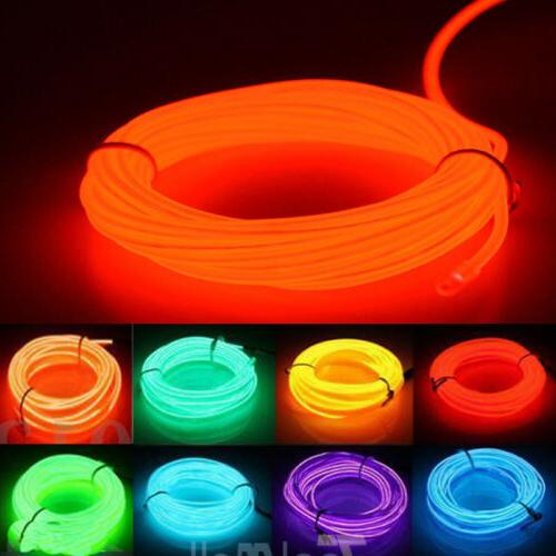 led el wire neon glow string strip