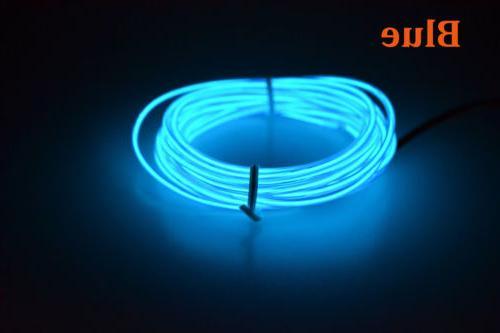 Neon Light Glow EL Rope Tube Party