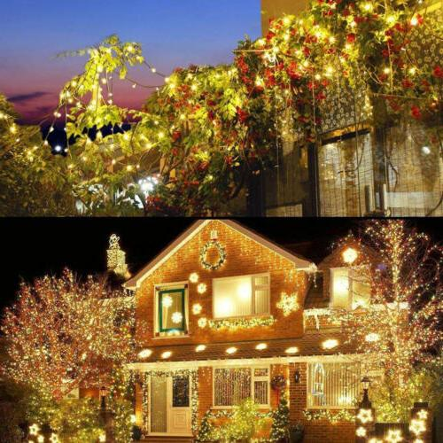 10-500LED Fairy Lights 10-100M Christmas Weding Party