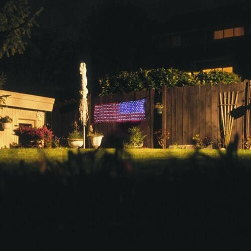 LED Flag American Light For Festival Indoor/ Outdoor