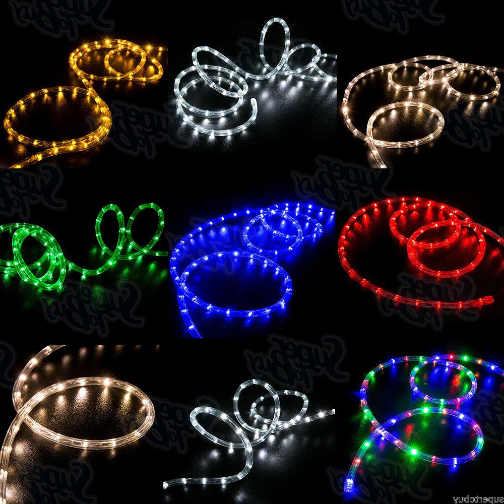 LED Rope Lights 10' 25' 50' 100' 150' feet 2 Wire Accent Lig