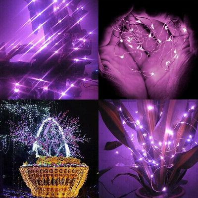 LED SILVER WIRE STRING FAIRY DECORS