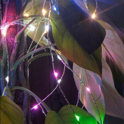 LED SILVER WIRE FAIRY MINIATURE DECORS MULTIPLE
