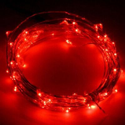 LED WIRE FAIRY DECORS MULTIPLE COLOR