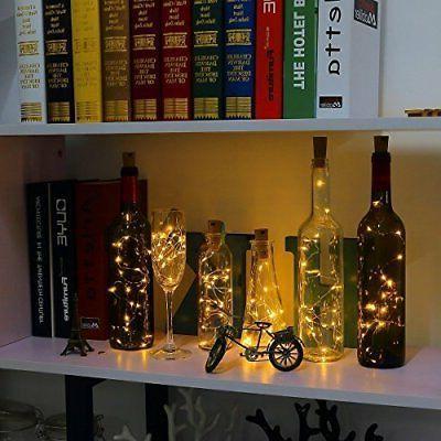 LED Fairy String Lights Wine Bottle Cork Lamp Xmas Decor