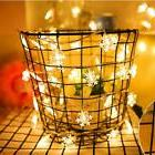Led String Hanging Fairy Snow Light House Birthday Wedding P