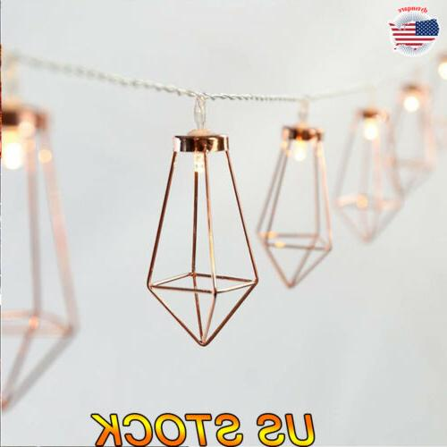 LED String Lights Party Home Decoration 10/20 Lantern Lamps