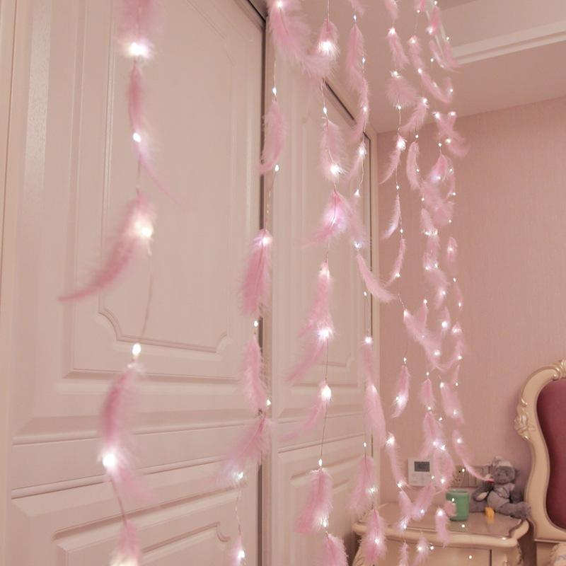 Led Strip <font><b>String</b></font> Curtain <font><b>Light</b></font> <font><b>Copper</b></font> Bedroom room Style Romantic Decoration
