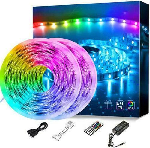 Led Strip Lights 16.4ft RGB Led Room Lights 5050 Led Tape Li