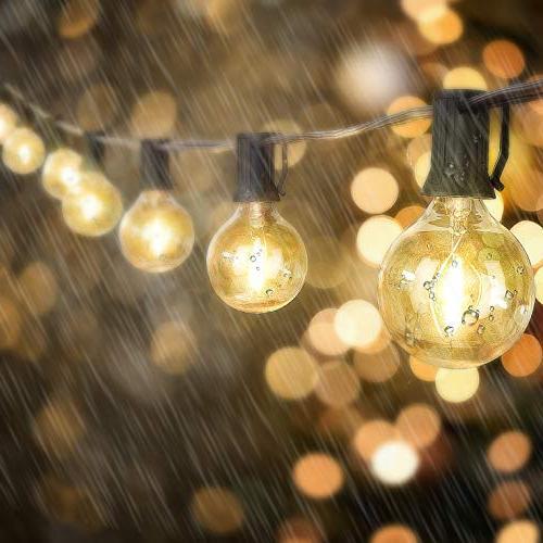 Outdoor LED String Dimmable - Globe Edison Bulbs Lighting Café Patio Porch Yard
