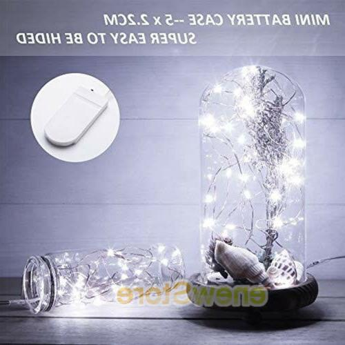 Lot LED Silver Wire Decor