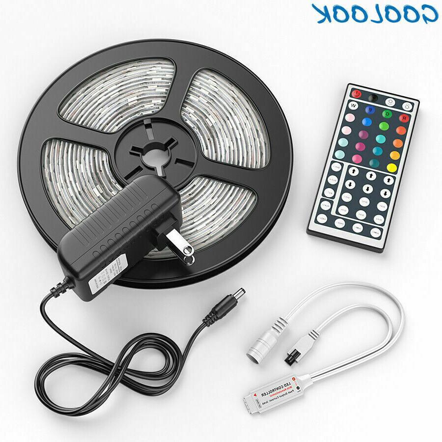 Luces Stock 5050 LED Strip RGB SMD Lamp Full Kit