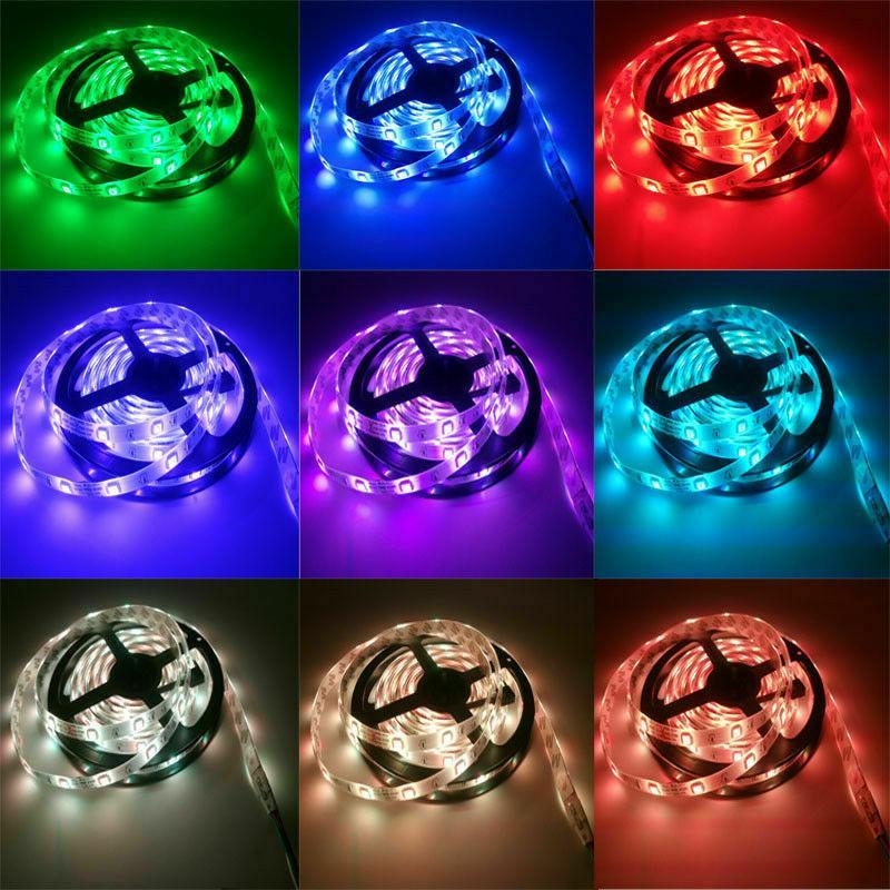 Luces US 5M 5050 LED RGB Lamp