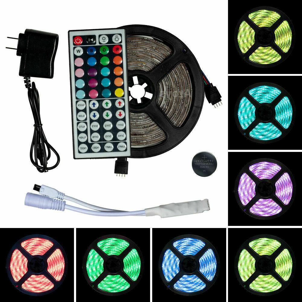 Luces Stock 5050 LED Strip RGB SMD Ribbon Lamp Stripe Full Kit