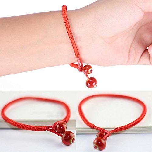 Ceramic Bead Woven Bracelets Adjustable New