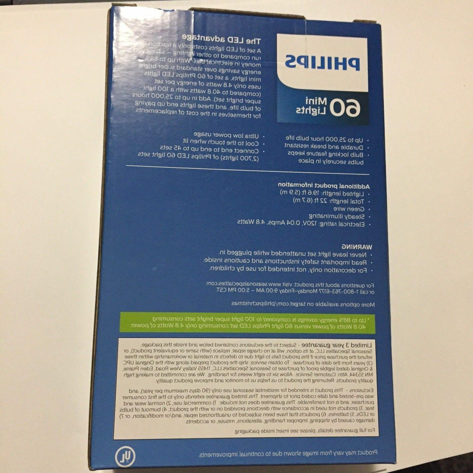 Philips Mini Indoor White or Blue