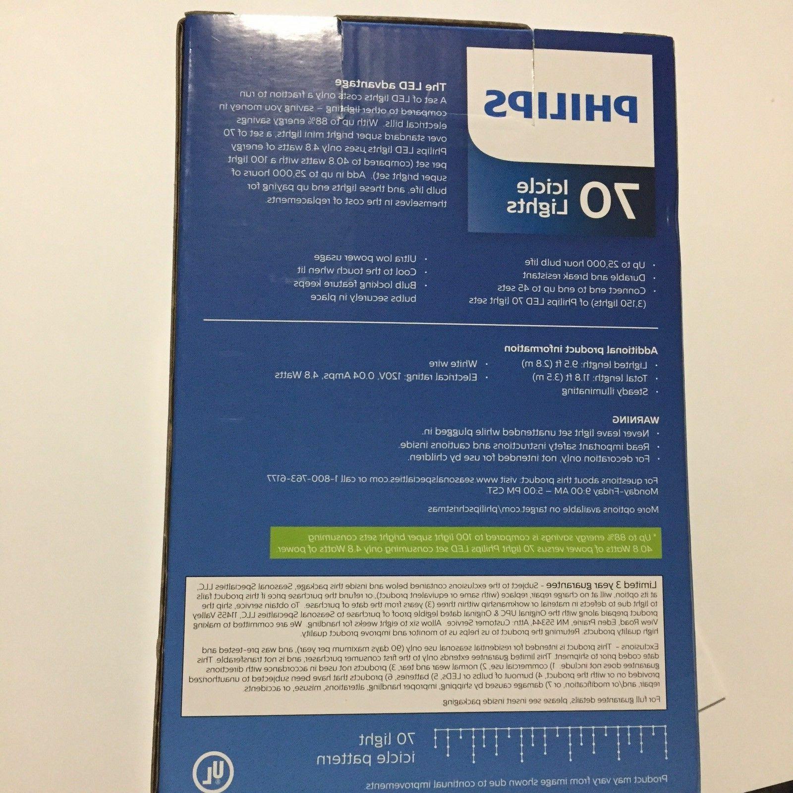 Philips Indoor White Blue LED