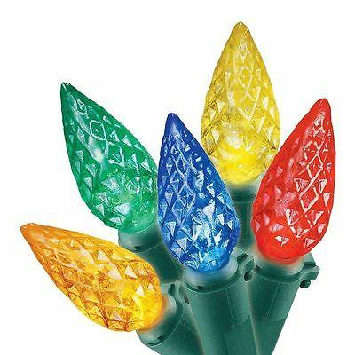 New ! LED Faceted Multi-color Green indoor Outdoor