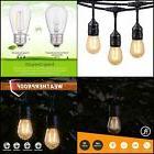 Outdoor Cafe String Lights 48ft 15 Shatterproof Led S14 Edis
