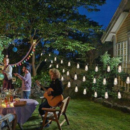 ALEKO Outdoor Weatherproof Cafe Lights 25 ft