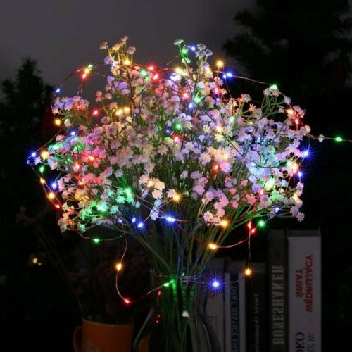 Outdoor Power LED Copper Wire Fairy Decor