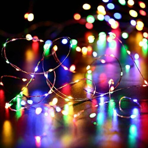 Outdoor Solar LED Wire String Decor