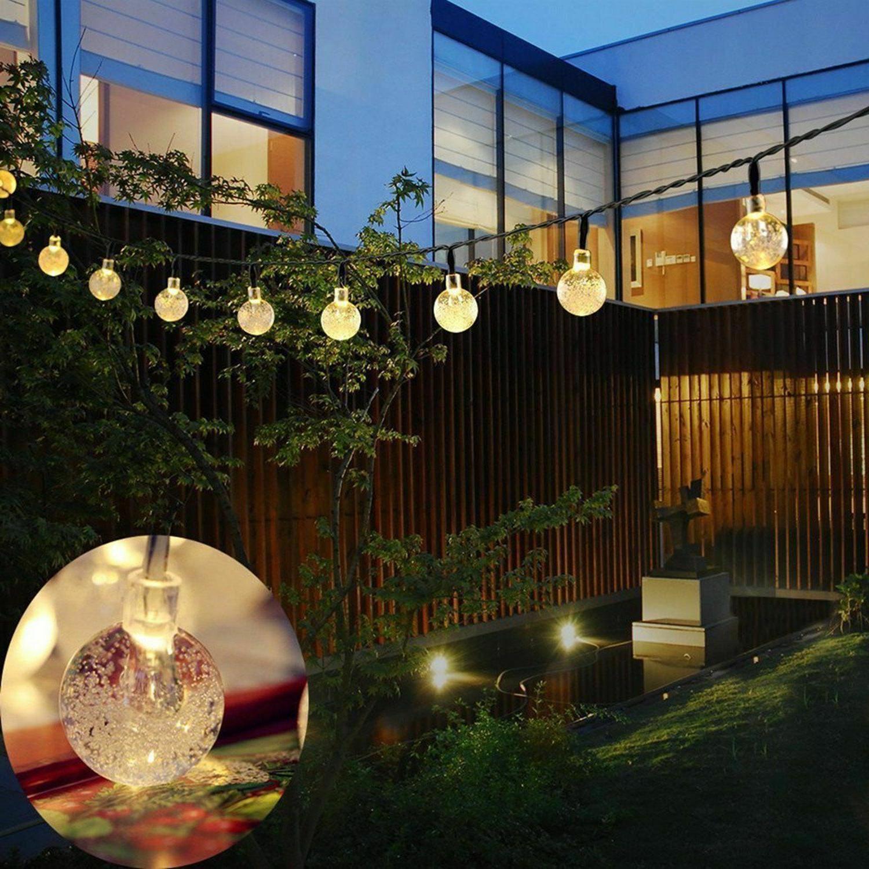 Outdoor Solar Powered 30 LED String Light Garden Patio Yard