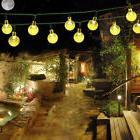 Outdoor Solar Powered String Lights 8Mode 30 LED Balls 21ft