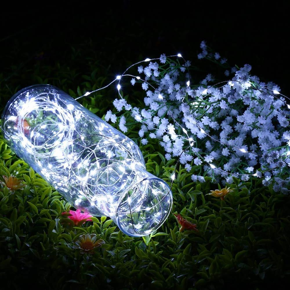 Outdoor 100 LED Copper Fairy White